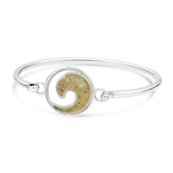 Nantucket Sand Wave Bangle Bracelet