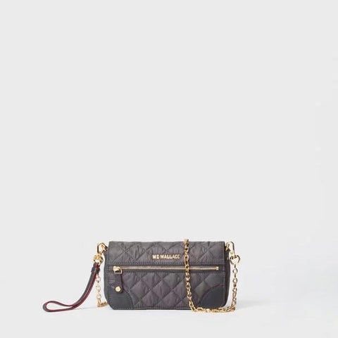 MZ Wallace Crosby Convertible Wristlet in Magnet