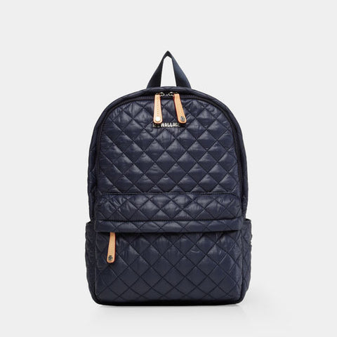 MZ Wallace City Metro Backpack in Navy Dawn