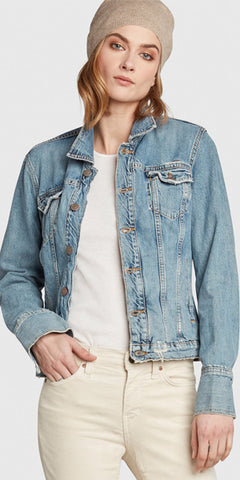 Maverick Denim Jacket in Bang Up