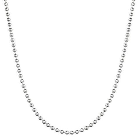 2.5 MM Sterling Silver Ball Chain