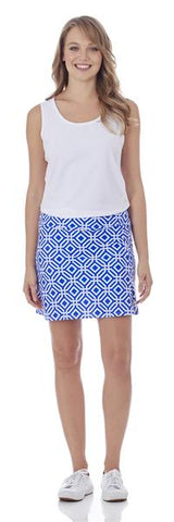 Morgan Skort in Grand Links Sapphire
