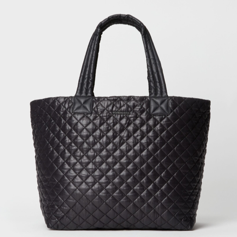 MZ Wallace Large Metro Deluxe Tote in Black