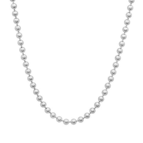3 MM Sterling Silver Ball Chain