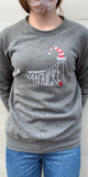 Nantucket Santa Hat Sweatshirt