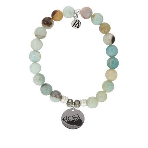 Amazonite ACK StACKed Bracelet