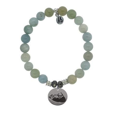Aquamarine ACK StACKed Bracelet