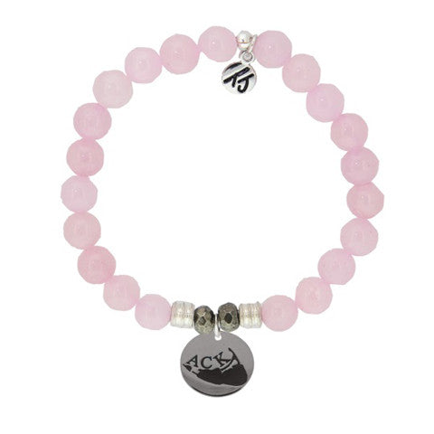 Rose Quartz StACKed Bracelet