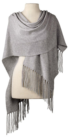 Cashmere Alicia Wrap in Birch