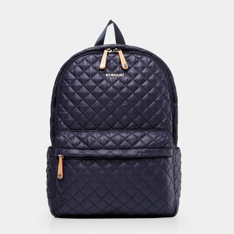 MZ Wallace Metro Backpack in Navy Dawn