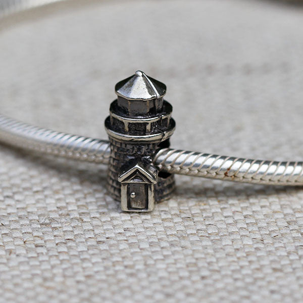 Brant Point Lighthouse Charm Bead