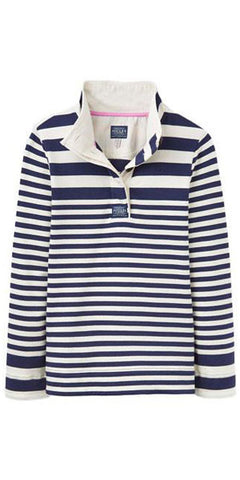 Cowdray Sweatshirt in Creme/Navy Stripes by Joules