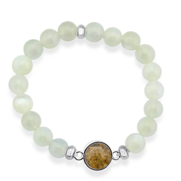 Nantucket Sand Bracelet in Moonstone