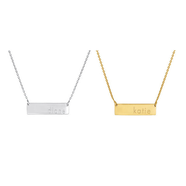 Dillon Bar Necklace