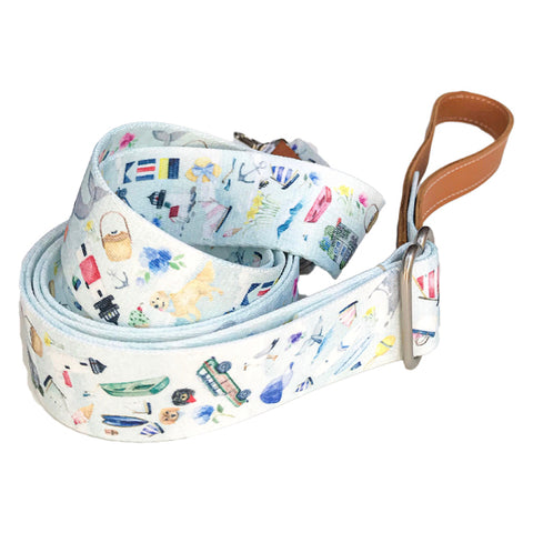 Nantucket Dog Leash by NJ x MH Designs