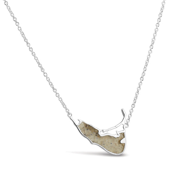 Nantucket Island Sand Necklace