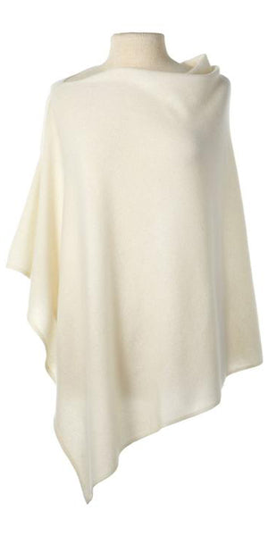 Cashmere Cape in Ecru