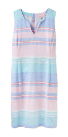 Elayna Dress in Multi Stripe by Joules