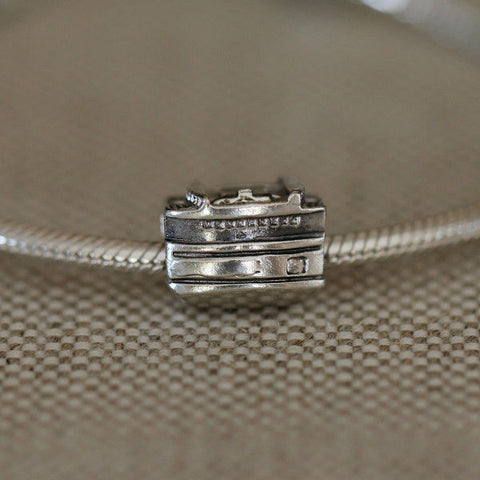 Steamship Ferry Boat Charm Bead