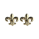 Fleur de Lis Stud Earrings