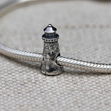 Great Point Lighthouse Charm Bead