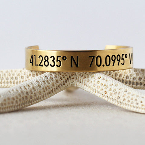 Nantucket Coordinate Collection Horizon Bracelet