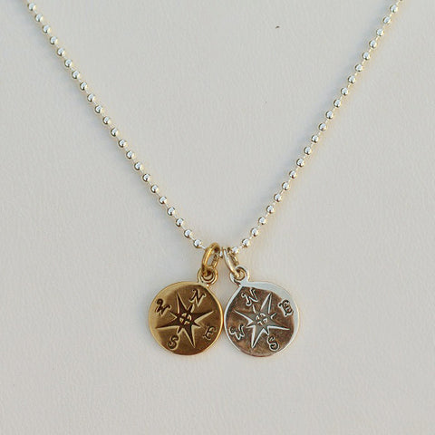 Compass Rose Charm