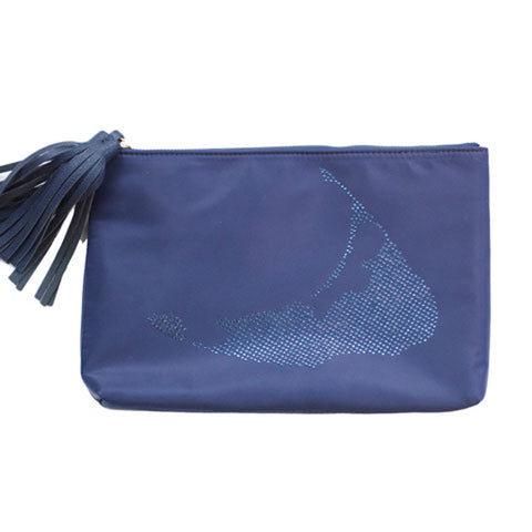 Island Sparkle Clutch in Navy
