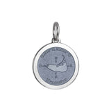 Medium Colby Davis Nantucket Charm in Grey