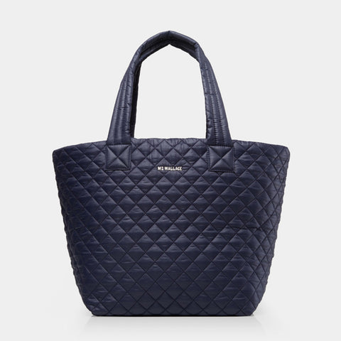 MZ Wallace Medium Metro Tote in Navy Dawn