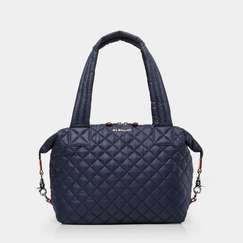 MZ Wallace Medium Sutton in Navy Dawn