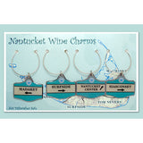 Nantucket Wine Charms Madaket Set