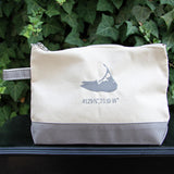 Island Make Up Bag in Grey