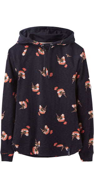 Marlston Sweatshirt in Navy Posy by Joules