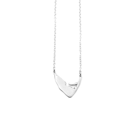 Medium Island Swing Necklace in Silver by Skar Jewerly