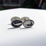 Sterling Silver Nantucket Cufflinks By Nancy Jakubik