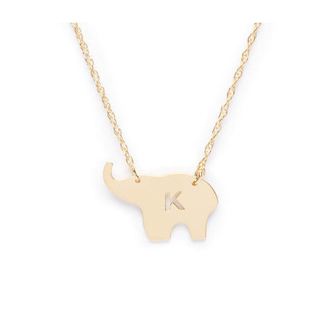 Nala Elephant Necklace by Moon & Lola