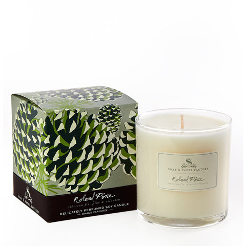 Roland Pine 9 oz Soy Candle