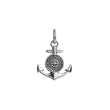 Large Colby Davis Rowe's Wharf Anchor Charm in Sterling Silver