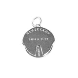 Nantucket Spinner Charm in Sterling Silver by Jet Set Candy