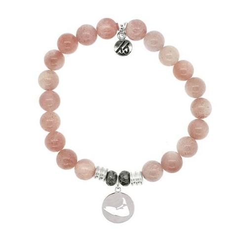 Sunstone Island Cut Out StACKed Bracelet