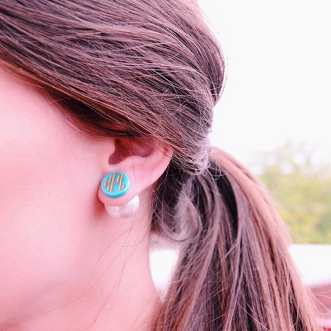 Providence 360 Post Earrings by Moon & Lola