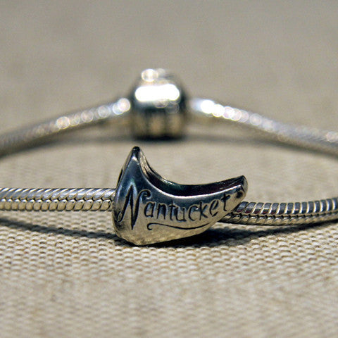 Shape of Nantucket Charm Bead