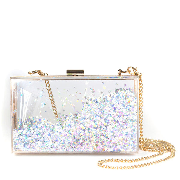 Sparkle Bag in Silver