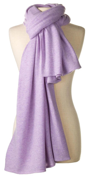 Cashmere Over-Sized Comfort Wrap in Lilac