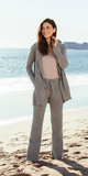 Hooded Cardigan in Beachrock