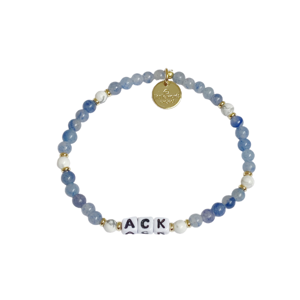 Little Words Project ACK Bluestone Bracelet