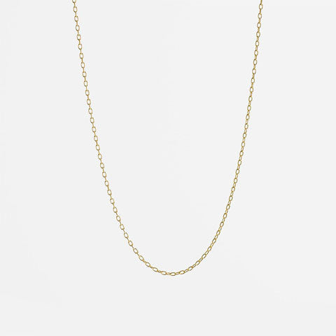 Gold Delicate Necklace Chain