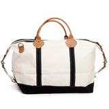 Weekender Duffle with Black Trim