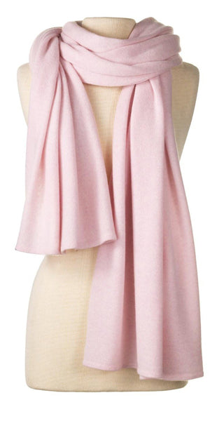 Cashmere Over-Sized Comfort Wrap in Ballet